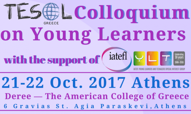 TESOL Colloquium on Young Learners 21/10/2017